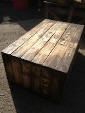 coffee table rustic wooden old vintage industrial display timber retro pallet