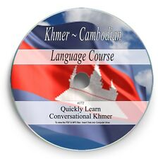 Learn Speak Cambodian - Khmer Language Course - 51Hrs Audio MP3 Books on DVD 172