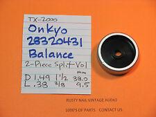 onkyo 28320431 balance regler teil 2-teilig split volume balance tx-2000