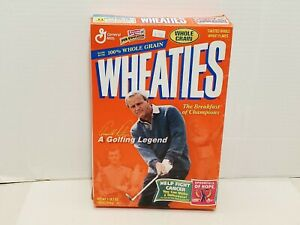 Wheaties Box Arnold Palmer Golf Legend Masters US Open PGA Champion Collectible
