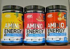 Amino Energy plus Electrolytes Optimum Nutrition Essential Amin.O. Choose Flavor