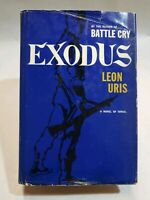 Leon Uris, Exodus, A Novel Of Israel,  1st Edition HB Book