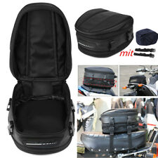 7.5-10L Motorcycle Luggage Bag Seat Mount Box Back Pack Hand Case Waterproof NEW