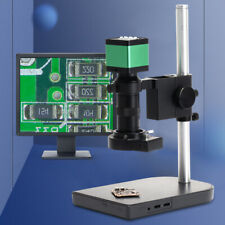 1080P 60fps 48MP HDMI USB Video Digital Industrial Microscope Camera 100X Lens