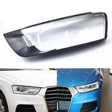 For Audi Q3 2016 2017 2018 Car Headlight Headlamp Clear Lens Auto Shell Cover