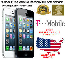 Apple iPhone T-Mobile USA Official  Factory Unlock Service
