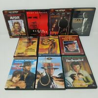 Clint Eastwood DVD Lot of 10 Movies (Western, Action, Drama, Classics)