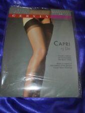 Cervin Capri Nylonstrümpfe Strapsstrümpfe Gr. 42-44 gazelle Stockings Bas OVP