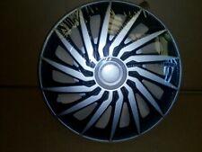 4 Copricerchi auto universali coppa ruota 15/'/' Gorecki Le Mans nero e argento