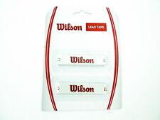 * nuevo * wilson lead tape plomo banda 2x20g tenis plomb schlägertuning plateado 2x50cm