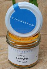 Turmeric Powder - Organic - Glass Jar - Steenbergs