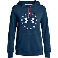 NWT UNDER ARMOUR Womens Freedom Pullover Sweatshirt 1327467 408 Small