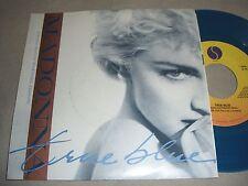 """MADONNA True Blue/Ain't No Big Deal 7""""single BLUE VINYL 45 record NM/EX Ltd. Ed."""