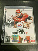 NCAA Football 10 Video Game Sony PlayStation 3 PS3 VERY Fast Ship World!