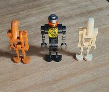 NEW LEGO SET OF 3 STAR WARS MEDICAL DROID, X2 BATTLE DROIDS MINIFIGURES NEW