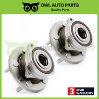2PC Front Wheel Hub Bearing 5 Bolts For Jeep Grand Cherokee Dodge Durango 513324