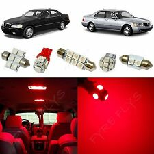 19x Red LED lights interior package kit for 1999-2004 Acura RL AR3R