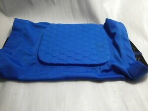 Knee Pads Elastic with foam honeycombans leg gripping silicone on elastic, Sz XL