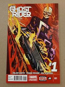 ALL-NEW GHOST RIDER #1 COVER A NM- 1ST PRINTING KEY ISSUE 1ST APP. ROBBIE REYES