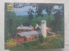 Vintage Golden Guild 1000 Piece Jigsaw Puzzle Valley Farm