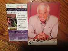 JEAN PAUL BELMONDO   PHOTO  SIGNED JSA SPENCE