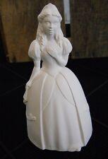 Princess Figurine Unpainted Ceramic Bisque - Unpainted U-Paint