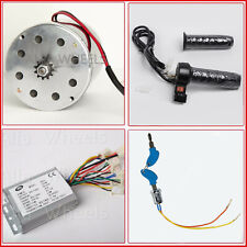 500W 24V electric 1020 motor kit Reverse Control+Throttle w Rev Switch+KeyLock