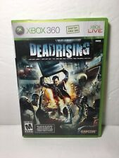 Dead Rising (Microsoft Xbox 360, 2006) Complete w/ Manual Zombies