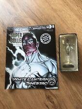 Eaglemoss DC Figure White LanternSinestro Blackest Night Brightest Day with Mag