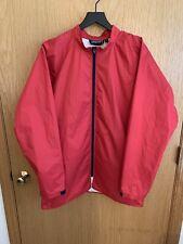 Vintage Patagonia Rain Shell Jacket Size L/XL Mens Red Cycling Hiking Waterproof