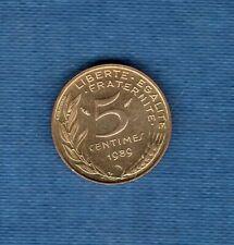 5 Centimes Marianne 1989 SPL de rouleau 94011 exemplaires