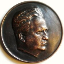 LOUIS PORTES .1891 / 1950 PRESIDENT DE L'ORDRE DES MEDECINS .BRONZE .6.8 CM