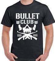Bullet Club Mens Pro Wrestling T-Shirt Japan MMA WWE WCW UFC NJPW
