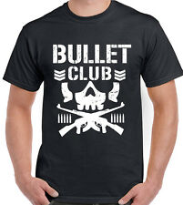 Bullet Club Mens Pro Wrestling T-Shirt Japan MMA WWE WCW UFC NJPW