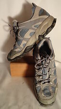 The North Face Gray Leather/Synthetic, Gore-Tex, Vibram Hiking Shoes, Women 8.5