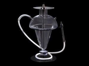 Oduman ORIGINAL Shisha N5-Z - Clear Hookah Wasserpfeife Edelstahl  NEU