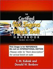 The Certified Six Sigma Black Belt Handbook-Kubiak- Int E PaperBack - 3 ed-W/CD
