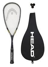 HEAD intelligence i.110 Racchetta Da Squash + 3 Squash Balls RRP £ 175