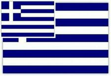 Shatchi '5ft x 3ft Greece Country National Flags Indoor Outdoor Polyester 1.