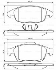 Brake Pads Set 0986495258 Bosch 425361 4254C0 425413 425425 E172295 24538 BP1559