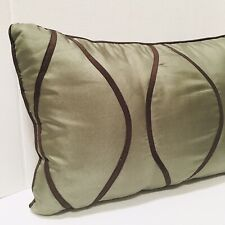 Jcp Home Collection Studio Decorative Bed Throw Pillows Sage Green Brown Accents