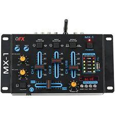 Qfx MX1 3 Channel Mixer