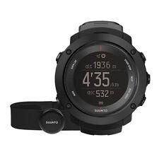 Uhr GPS Wandern Outdoor Bergsteigen SUUNTO VERTICAL HR schwarz