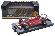 Brumm R488-CH Ferrari 126CK Turbo US West GP (Race) 1981 - D Pironi 1/43 Scale