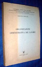 Armando Ferrari / Organizzazione amministrativa del lavoro / Armando Ferrari