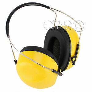 Certified Hi Nrr Earmuffs Hearing Noise Ear Protection Earphones Behind The Neck