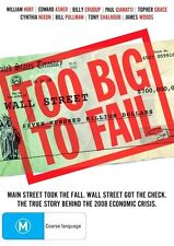 Too Big To Fail (DVD, 2012) William Hurt Brand New & Sealed Region 4