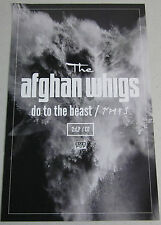 """The Afghan Whigs - Do To The Beast  * Promo Poster * 11"""" x 17""""  rare"""