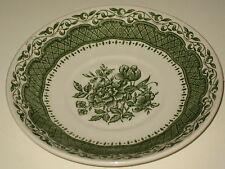 Untertasse English Ironstone Tableware LTD Farbe grün RAR  14cm