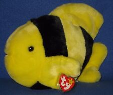 TY BUBBLES the FISH BEANIE BUDDY - MINT with MINT TAGS